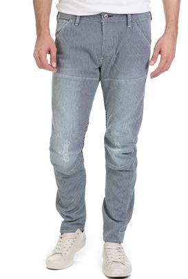 G-STAR RAW-Ανδρικό παντελόνι G-Star 5620 3D SLIM λευκό - μαύρο