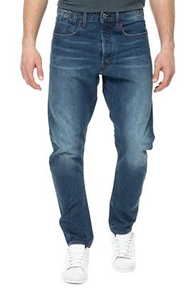 G-STAR RAW-Ανδρικό τζιν παντελόνι G-STAR RAW 3d tapered μπλε