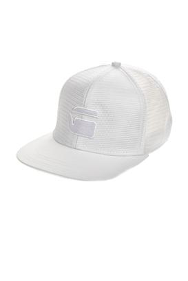 G-STAR RAW-Ανδρικό καπέλο G-STAR λευκό