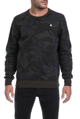 G-STAR-Ανδρικό πουλόβερ G-STAR RAW γκρι