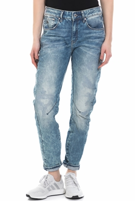 G-STAR-Γυναικείο τζιν παντελόνι G-Star ARC 3D MID BOYFRIEND μπλε