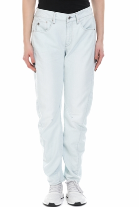 G-STAR-Γυναικείο τζιν παντελόνι G-Star ARC 3D MID BOYFRIEND λευκό - μπλε