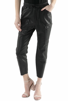 G-STAR RAW-Γυναικείο cropped παντελόνι G-Star Raw μαύρο