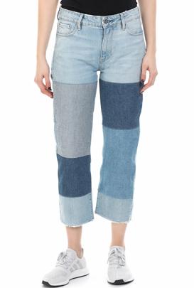 G-STAR-Γυναικείο τζιν παντελόνι G-Star MID BOYFRIEND RP 7/8 μπλε