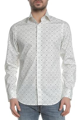 05dcc6cd5330 G-STAR-Ανδρικό μακρυμάνικο πουκάμισο G-STAR RAW CORE SHIRT λευκό