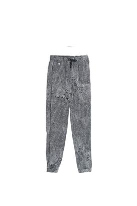 GARCIA JEANS-Παιδική παντελόνι Garcia Jeans μαύρο-λευκό