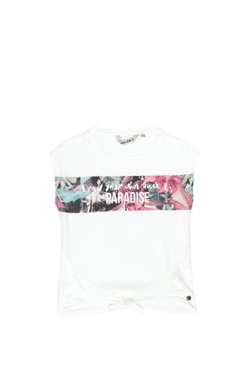 GARCIA JEANS-Παιδική μπλούζα Garcia Jeans λευκή