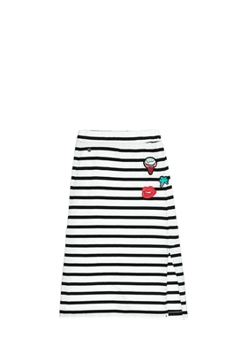 GARCIA JEANS-Παιδική φούστα Garcia Jeans λευκή-μαύρη