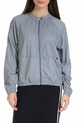 GARCIA JEANS-Γυναικείο jacket από την Garcia Jeans γαλάζιο