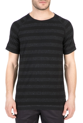 6c06240d823d GARCIA JEANS-Ανδρικό T-shirt GARCIA JEANS μαύρο-γκρι