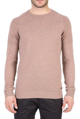 GARCIA JEANS-Ανδρική μακρυμάνικη μπλούζα GARCIA JEANS ροζ