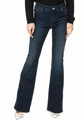 ee6d8b920c5 GAS-Γυναικείο τζιν παντελόνι καμπάνα GAS TASCHE CAMILIA σκούρο μπλε