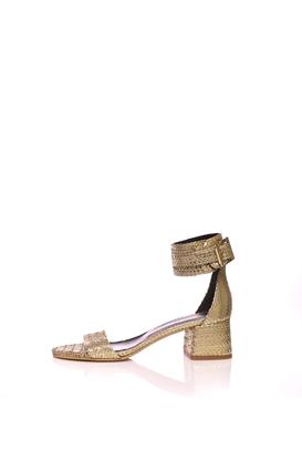 373e7e299a GLAMAZONS-Γυναικεία πέδιλα GOLD GLAMAZONS χρυσή απόχρωση