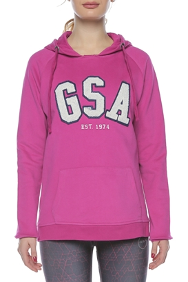 GSA-Γυναικείο φούτερ GLORY φούξια
