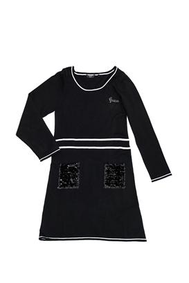 139b9e036da GUESS KIDS-Παιδικό φόρεμα GUESS KIDS μαύρο