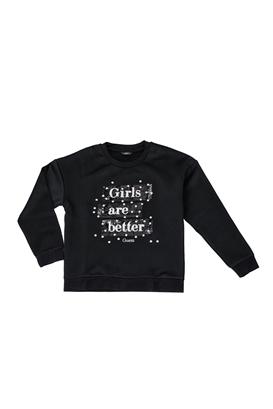 bb5d66f854d GUESS KIDS-Παιδική μπλούζα GUESS KIDS μαύρη
