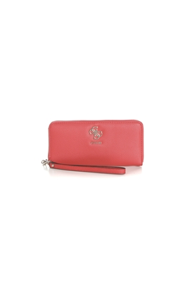 4024fdfe9b58 GUESS-Γυναικείο πορτοφόλι με φερμουάρ GUESS DIGITAL κόκκινο