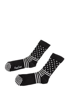 HAPPY SOCKS-Unisex κάλτσες HAPPY SOCKS μαύρες