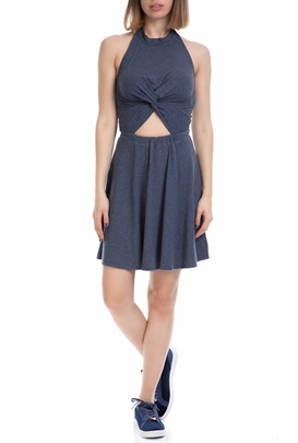 9a5ca05ae4ee JUICY COUTURE-Γυναικείο φόρεμα CUT OUT JUICY COUTURE μπλε