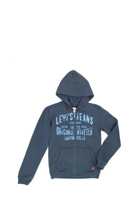 LEVI S KIDS-Παιδική ζακέτα Levi s Kids μπλε 4faee6d64da