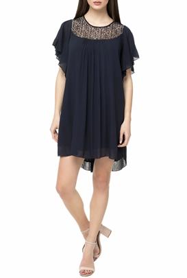 MOLLY BRACKEN-Μίνι φόρεμα MOLLY BRACKEN μπλε