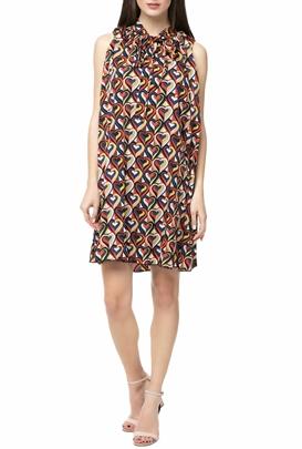 MOLLY BRACKEN-Μίνι φόρεμα MOLLY BRACKEN με γεωμετρικό μοτίβο