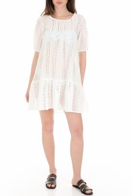 7534f37ed136 MOLLY BRACKEN-Γυναικείο φόρεμα παραλίας MOLLY BRACKEN λευκό