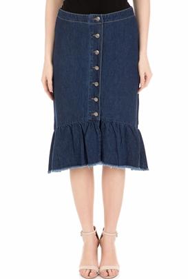 a2d74a6ccba6 MOLLY BRACKEN-Γυναικεία φούστα MOLLY BRACKEN μπλε