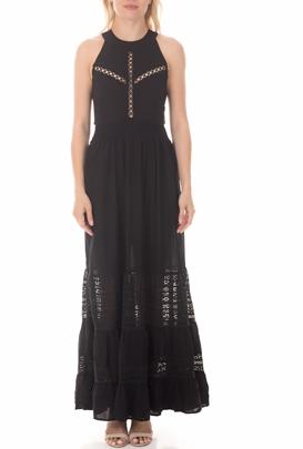 MOLLY BRACKEN-Γυναικείο μάξι φόρεμα MOLLY BRACKEN μαύρο