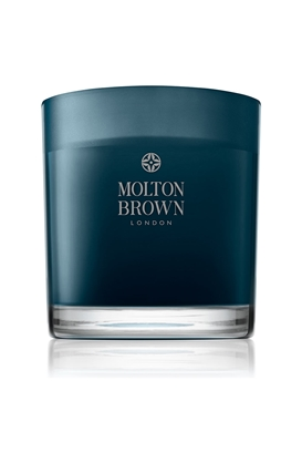 MOLTON BROWN-Κερί Russian Leather Three Wick- 480g 8a737a15fba