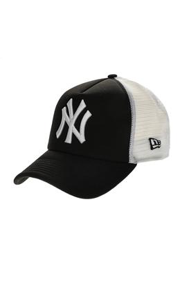 NEW ERA-Ανδρικό καπέλο New Era CLEAN TRUCKER μαύρο - λευκό