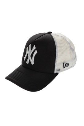 NEW ERA-Ανδρικό καπέλο New Era CLEAN TRUCKER μαύρο -λευκό