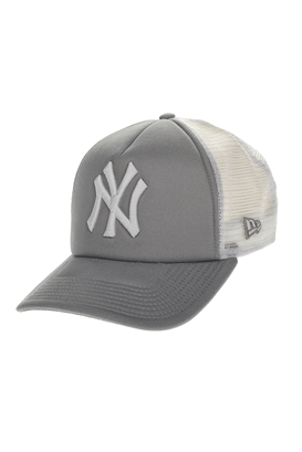 NEW ERA-Ανδρικό καπέλο New Era CLEAN TRUCKER γκρι-λευκό