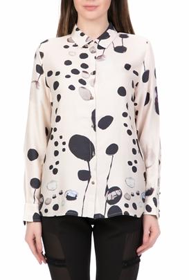 2d7a0beb57d4 NU-Γυναικείο μακρυμάνικο πουκάμισο NU μπεζ