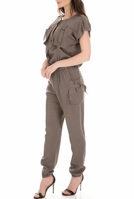 3775fa881f47 NU. Γυναικεία ολόσωμη φόρμα NU χακί