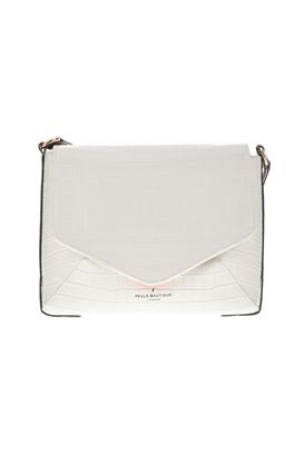 PAUL'S BOUTIQUE-Γυναικεία τσάντα ώμου RAFFIE λευκή