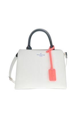 PAUL'S BOUTIQUE-Γυναικεία μίνι τσάντα χειρός LOGAN BERNERS λευκή