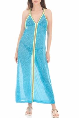 PITUSA-Γυναικείο beachwear φόρεμα PITUSA SUN γαλάζιο