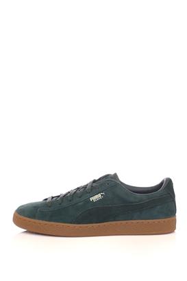 PUMA-Ανδρικά παπούτσια Puma Basket Classic Weather Proof πράσινα