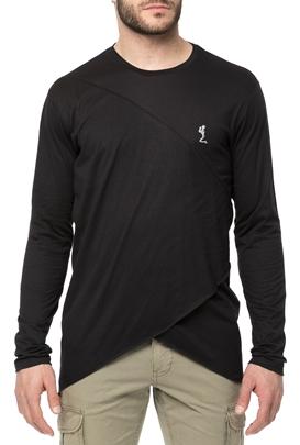 RELIGION-Ανδρική μακρυμάνικη μπλούζα RELIGION μαύρη