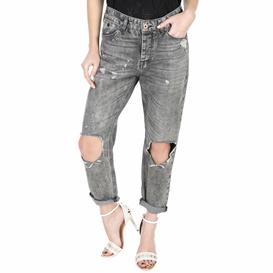 SCOTCH & SODA-Γυναικείο τζιν παντελόνι SCOTCH & SODA  L'Adorable - Heart Breaker γκρι