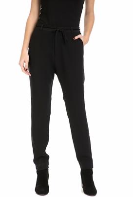 SCOTCH & SODA-Γυναικείο παντελόνι SCOTCH & SODA μαύρο