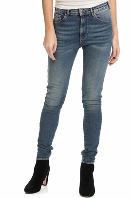 SCOTCH & SODA-Γυναικείο τζιν παντελόνι HAUT - BLACK AND BLAUW SCOTCH & SODA μπλε