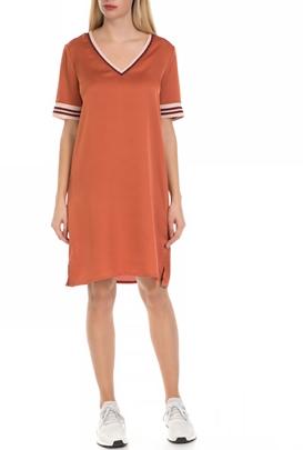 SCOTCH & SODA-Γυναικείό φόρεμα SCOTCH & SODA πορτοκαλί