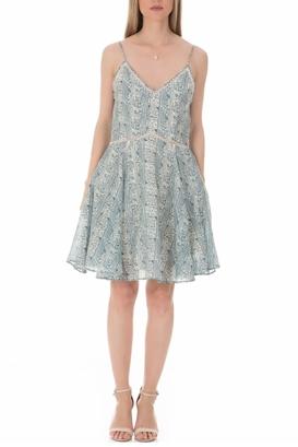 SCOTCH & SODA-Γυναικείο μίνι φόρεμα SCOTCH & SODA με print