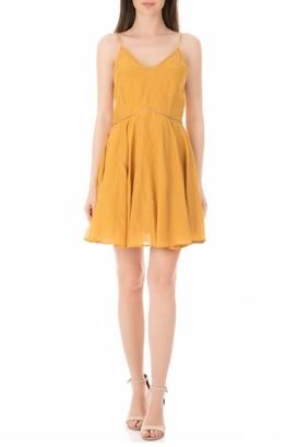 SCOTCH & SODA-Γυναικείο μίνι φόρεμα SCOTCH & SODA κίτρινο