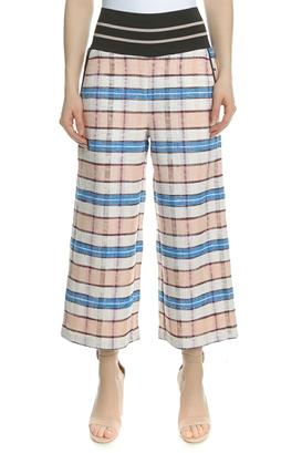 SCOTCH & SODA-Γυναικείο παντελόνι SCOTCH & SODA ροζ-μπλε