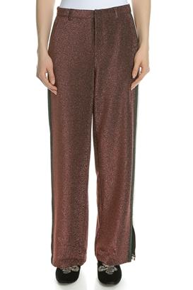 SCOTCH & SODA-Γυναικείο παντελόνι SCOTCH & SODA καφέ