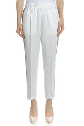 SCOTCH & SODA-Γυναικείο παντελόνι SCOTCH & SODA λευκό