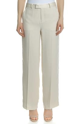 SCOTCH & SODA-Γυναικείο παντελόνι SCOTCH & SODA εκρού